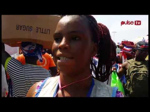 Election 2016: NPP paraphernalia set Makola Market ablaze