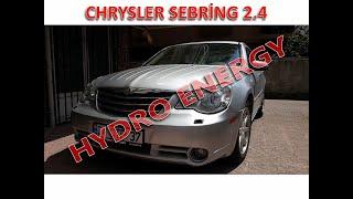 Chrysler Sebring 2.4 hidrojen yakıt tasarruf sistem montajı