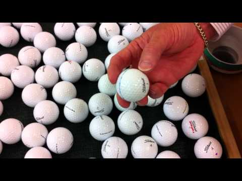 Near Mint Grade Golf Balls