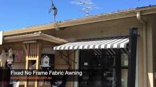 Fixed Fabric Awning Byron Bay