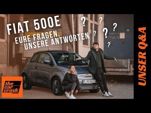 Fiat 500 e (2021): Eure Fragen - Unsere Antworten! 🤔🤓 Laden | Reichweite | Preis | Cabrio | Q&A