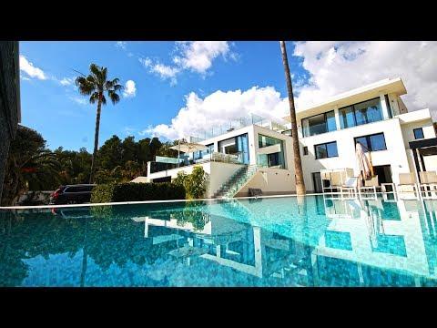 Хи-Теч вилла в Ла Накя современная недвижимость в Испании на побережье Коста Бланка