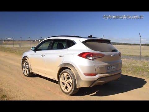 2016 Hyundai Tucson 1.6T (DCT) 0-100km/h & engine sound