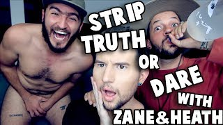 STRIP TRUTH or DARE w/ ZANE & HEATH - Video Youtube
