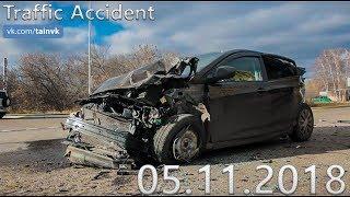 Подборка аварий и дорожных происшествий за 05.11.2018 (ДТП, Аварии, ЧП, Traffic Accident)
