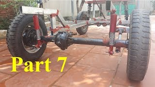 TECH - How to make a car with independent suspension - part 7