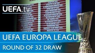 UEFA Europa League round of 16 draw