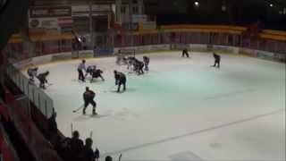 preview picture of video 'Seigneurs de Boucherville vs Mousquetaires de Saint-Hyacinthe 02/11/14'