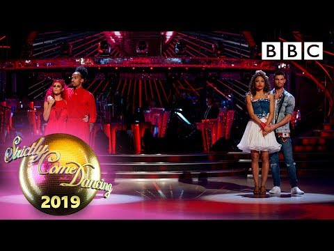 The judges vote and we say goodbye! 😢 - Week 4 | BBC Strictly 2019