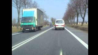 preview picture of video 'Maszków - Miąsowa / kierunek Warszawa DK 7, E 77 / Poland'