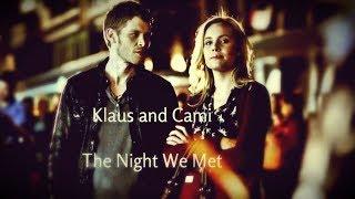 Klaus and Cami : ღThe Night We Metღ