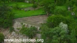Suru River flowing through Har Das, Kargil