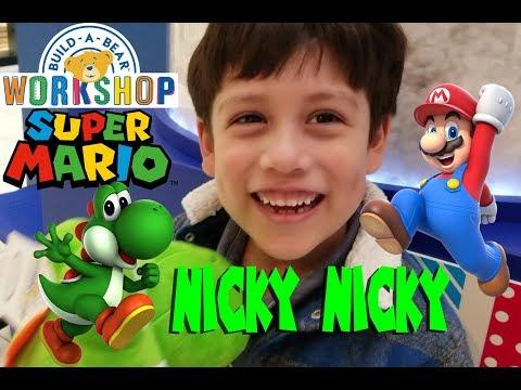 Build a Bear Yoshi Super Mario Nintendo
