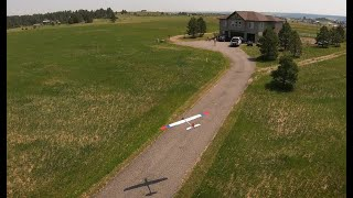 First FPV flights at the new place (quick edit)