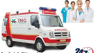 Best and Inexpensive Ambulance Service in Gaya and muzaffarpur by King