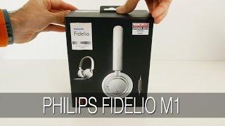 Philips Fidelio M1 Headphones Unboxing & Review
