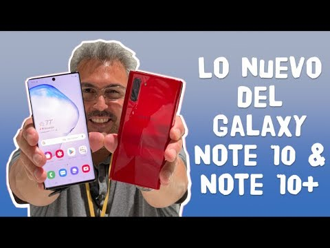 Con el Galaxy Note 10 y Note 10+ en MANO - Primeras impresiones