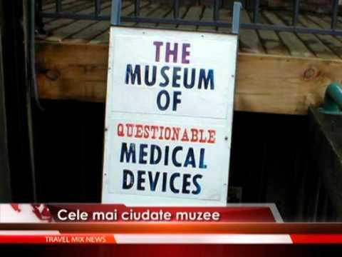 Cele mai ciudate muzee – VIDEO