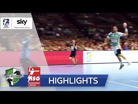 TSV Hannover-Burgdorf - HSG Nordhorn-Lingen   Highlights - LIQUI MOLY Handball-Bundesliga 2019/20