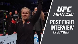 """Fight Night Brooklyn: Paige VanZant - """"I'm Getting Right Back in the Gym"""""""