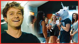 The Vamps - Connor's Unicorn Prank on Shawn Mendes - The Vamps Takeover Ep 6