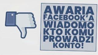 Awaria Facebook'a! Politycy sami nie prowadzą swoich kont!