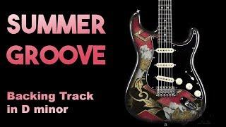 Summer Groove Backing Track in Dm #SZBT 26