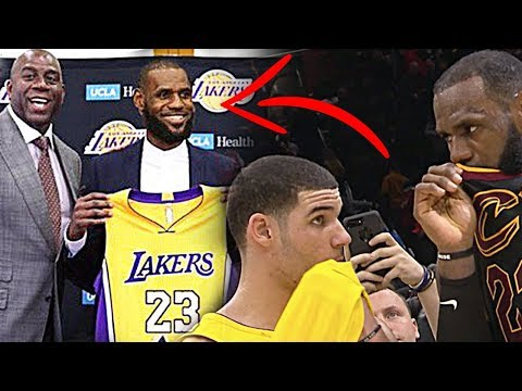 Twitter reacts to LeBron's secret postgame message to Lonzo Ball
