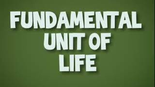 Why cell is called the structural and functional unit of life? | Class 9 | Fundamental Unit Of Life