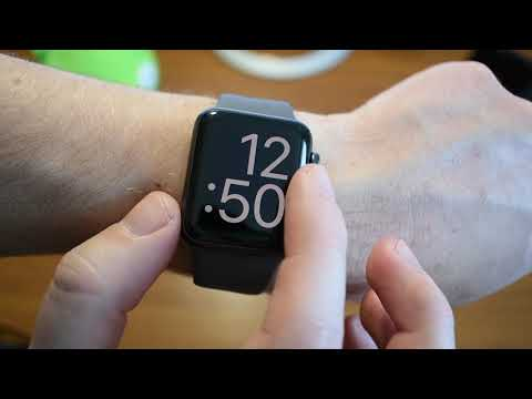 Apple Watch Series 3 (распаковка + обзор)