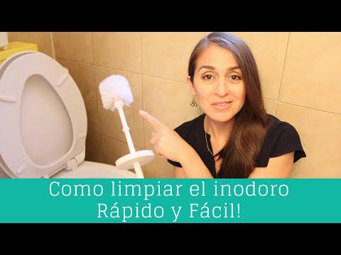 Como limpiar el inodoro - Rápido y Fácil! | Clean Casa