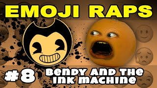 Annoying Orange - EMOJI RAPS #8: BENDY AND THE INK MACHINE