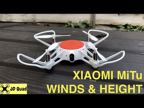 Xiaomi MiTu Wind and Height Flight Test Video - Courtesy of Banggood