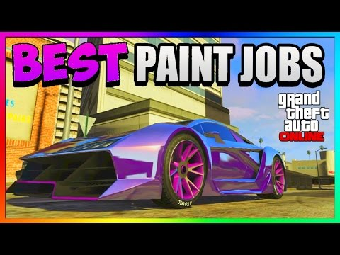 GTA 5 Online - Best RARE Paint Jobs! Car Customization Tutorial 1.39/1.27 (GTA 5 Paint Jobs)