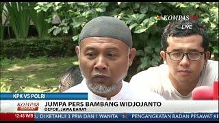 Konferensi Pers Bambang Widjojanto
