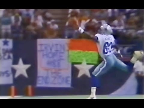 Alvin Harper INSANE One Handed Catch | Cowboys vs Redskins 1992