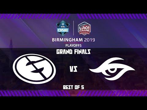 [DOTA 2] Evil Geniuses vs Team Secret (BO5) - ESL One Birmingham 2019 Grand Final [Ligagame]
