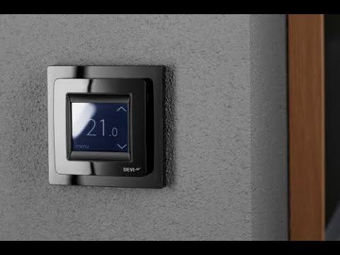DEVIreg Touch - терморегулятор Devi