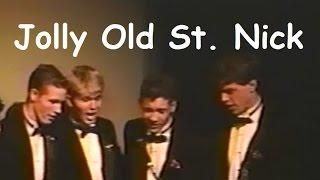 Hyrum Weibell 1997 Quartet - Jolly Old St. Nicholas