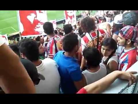 """Chivas vs santos Semifinal 2015 LA IRREVERENTE"" Barra: La Irreverente • Club: Chivas Guadalajara"