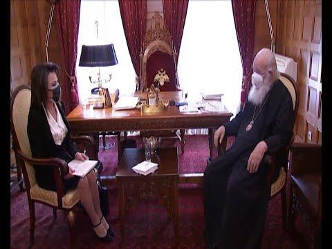 Συνάντηση Ιερώνυμου – Αγγελοπούλου για συμπόρευση Εκκλησίας – Επιτροπής «Ελλάδα 2021»