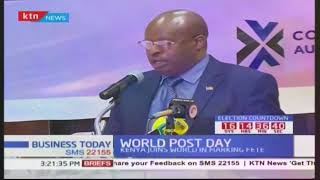 Business Today - 9th October 2017: Postal Cooperation of Kenya marks World Post Day