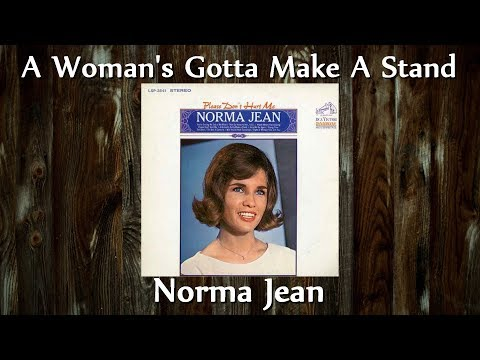 Norma Jean - A Woman's Gotta Make A Stand