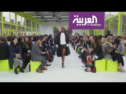 العرب اليوم - شاهد: فالنتينو يقدم مجموعة أزياء على شكل لوحات فنية