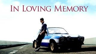 Paul Walker - I Will Return (Tribute)
