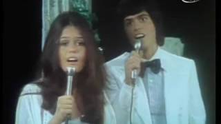 Donnie and Marie Osmond  I'm Leaving It All Up To You