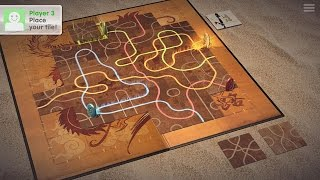 Tsuro - The Game of the Path [Android/iOS] Gameplay (HD)