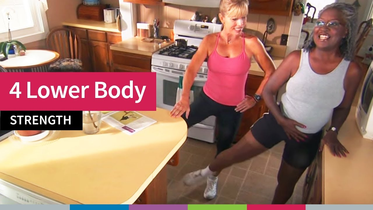 4 Lower Body Strength Exercises for Older Adults