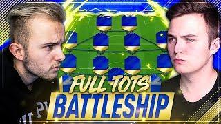 FIFA 18: FULL TOTS RAGE BATTLESHIP WAGER vs NoHandGaming 😱🔥