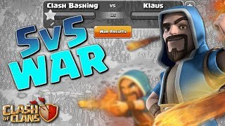 LESS THAN A 1% WIN!  5v5 FRIDAYS w/ Clash Bashing!!  Clash of Clans